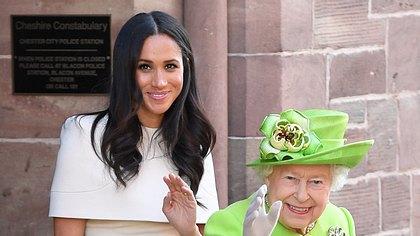 Herzogin Meghan und Queen Elizabeth - Foto: GettyImages