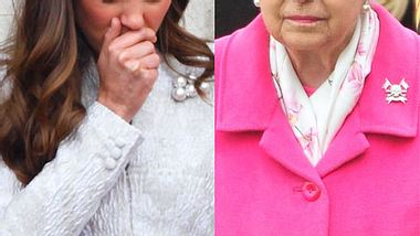 Queen Elizabeth II. diktiert Herzogin Kate mit Prinzessin Charlotte in den Palast! - Foto: Getty Images/WENN.com