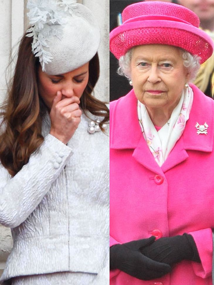 Queen Elizabeth II. diktiert Herzogin Kate mit Prinzessin Charlotte in den Palast!