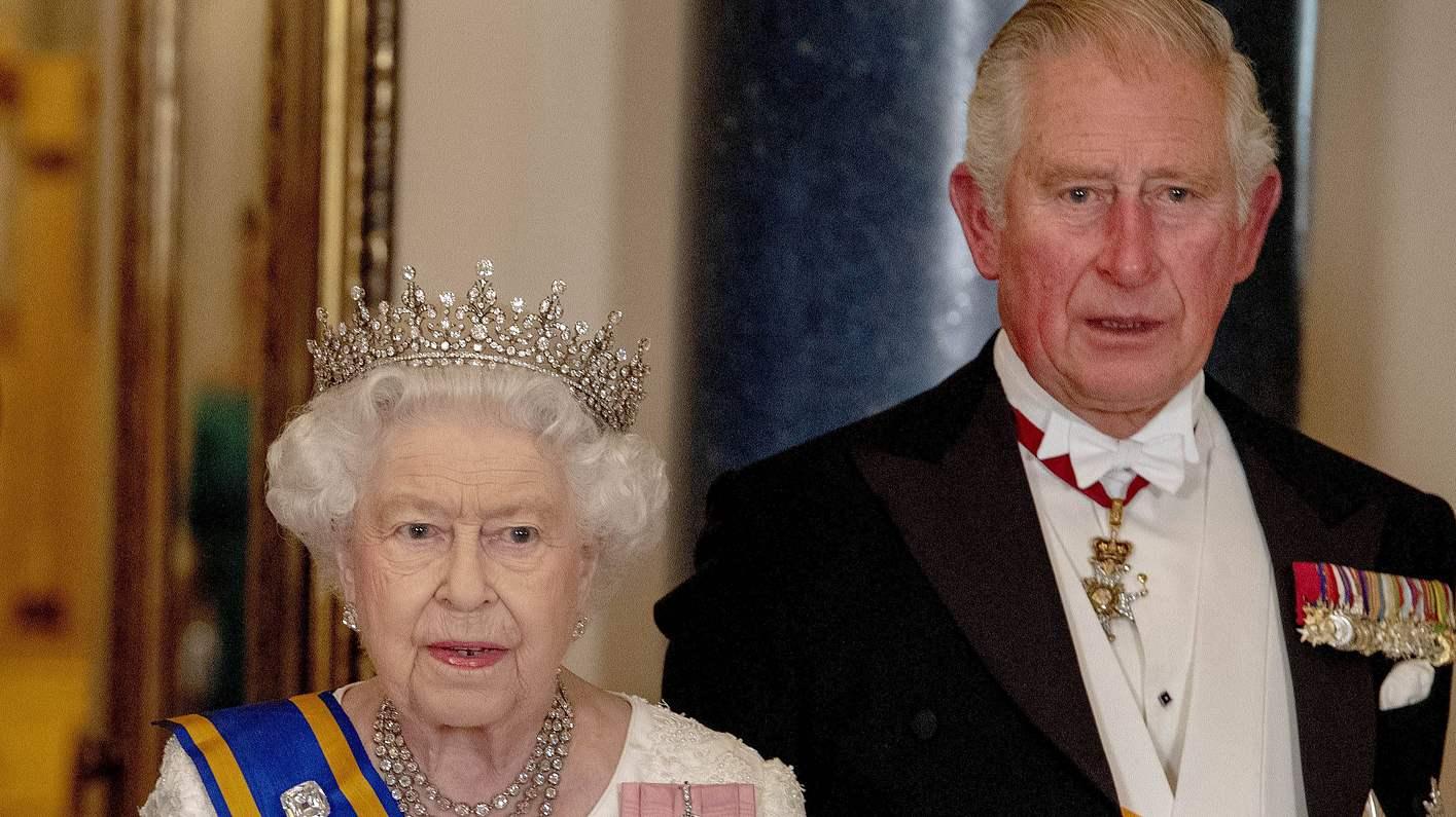 Queen und Prinz Charles