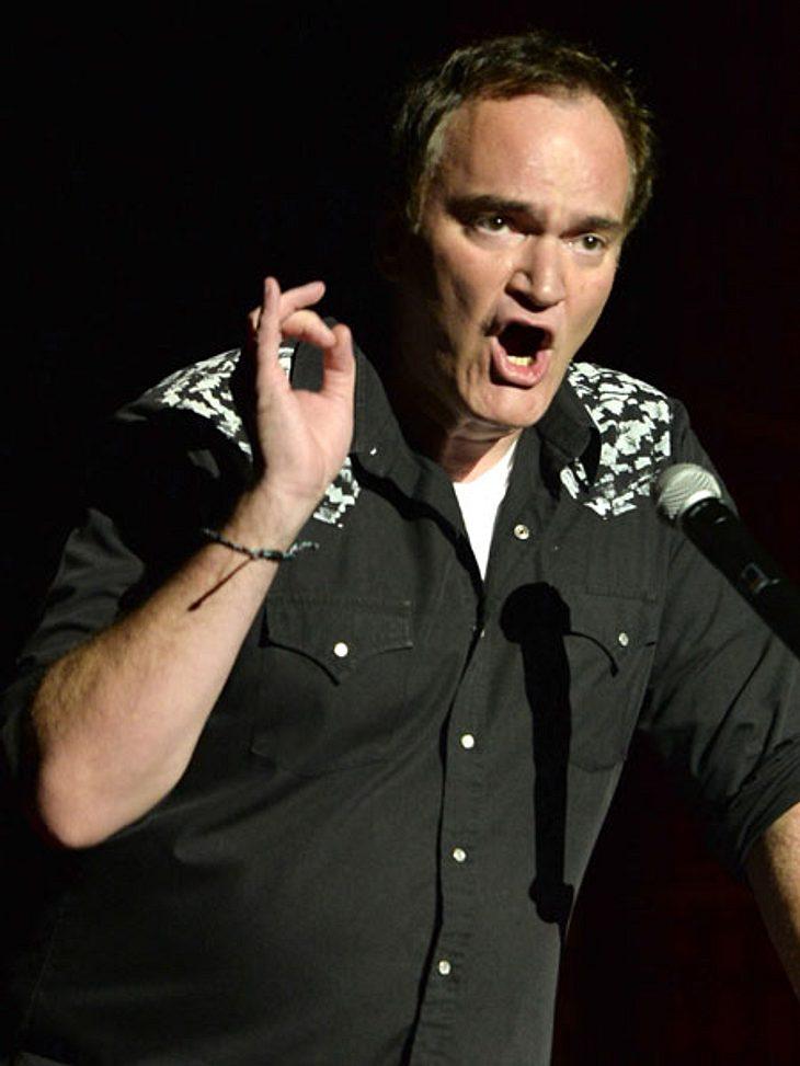 """Quentin Tarantino hat sich über """"drei verfi**te Schauspieler"""" aufgeregt."""