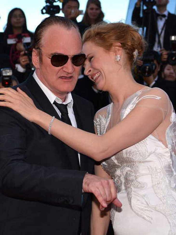 Quentin Tarantino und Uma Thurman sind ein Paar!