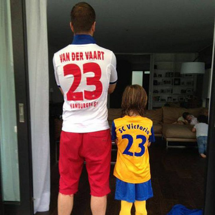 Rafael van der Vaart & Damian: Ein tolles Team
