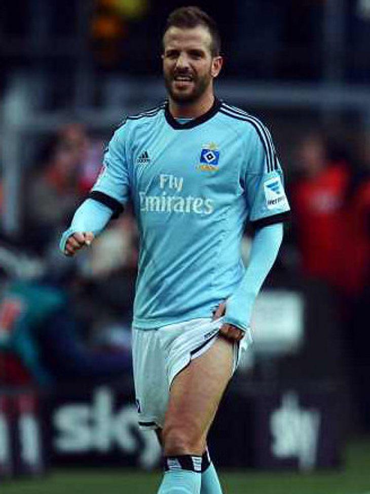 Rafael van der Vaart: Auf seinem Schuh steht nun der Name seines Sohnes.