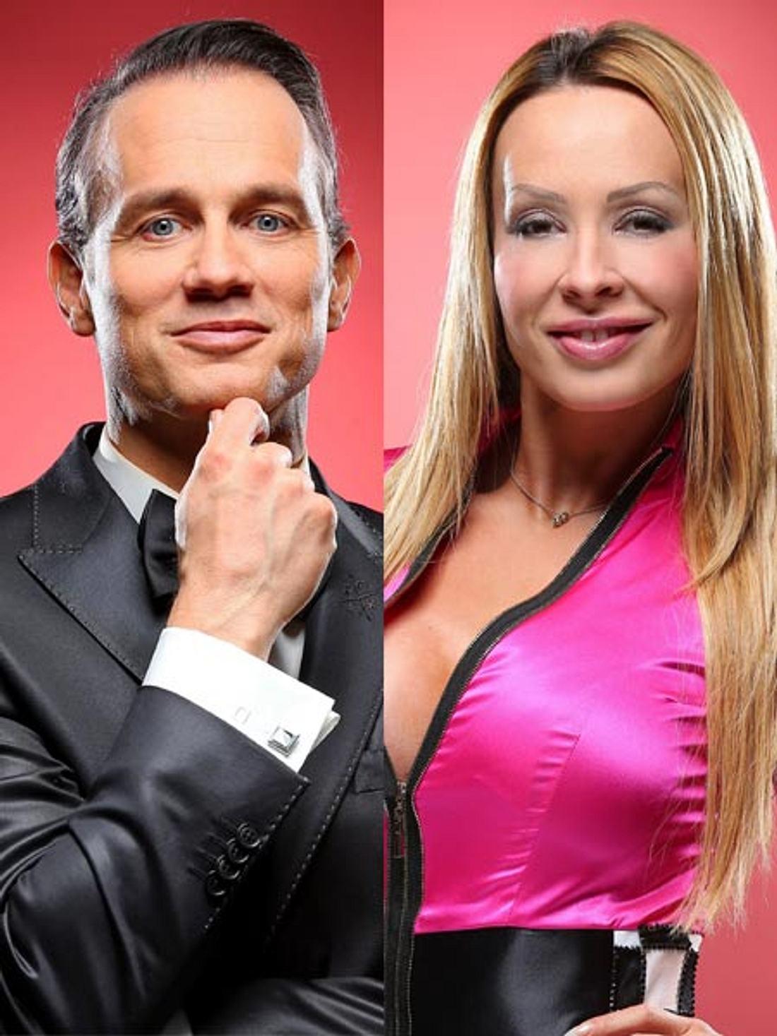 Ralf Bauer hat ein Auge auf Cora Schumacher geworfen