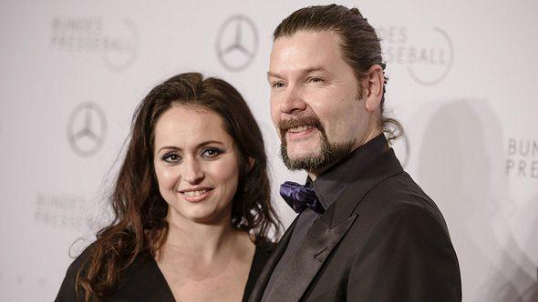 Rea Garvey und seine Frau Josephine beim Presseball - Foto: Getty Images