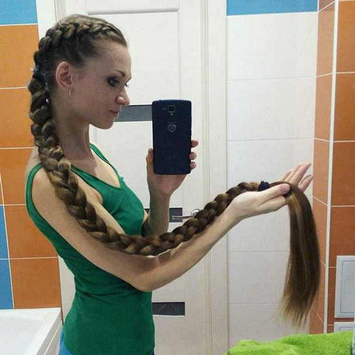 Real Life-Rapunzel Dashik Gubanova verzaubert Instagram!