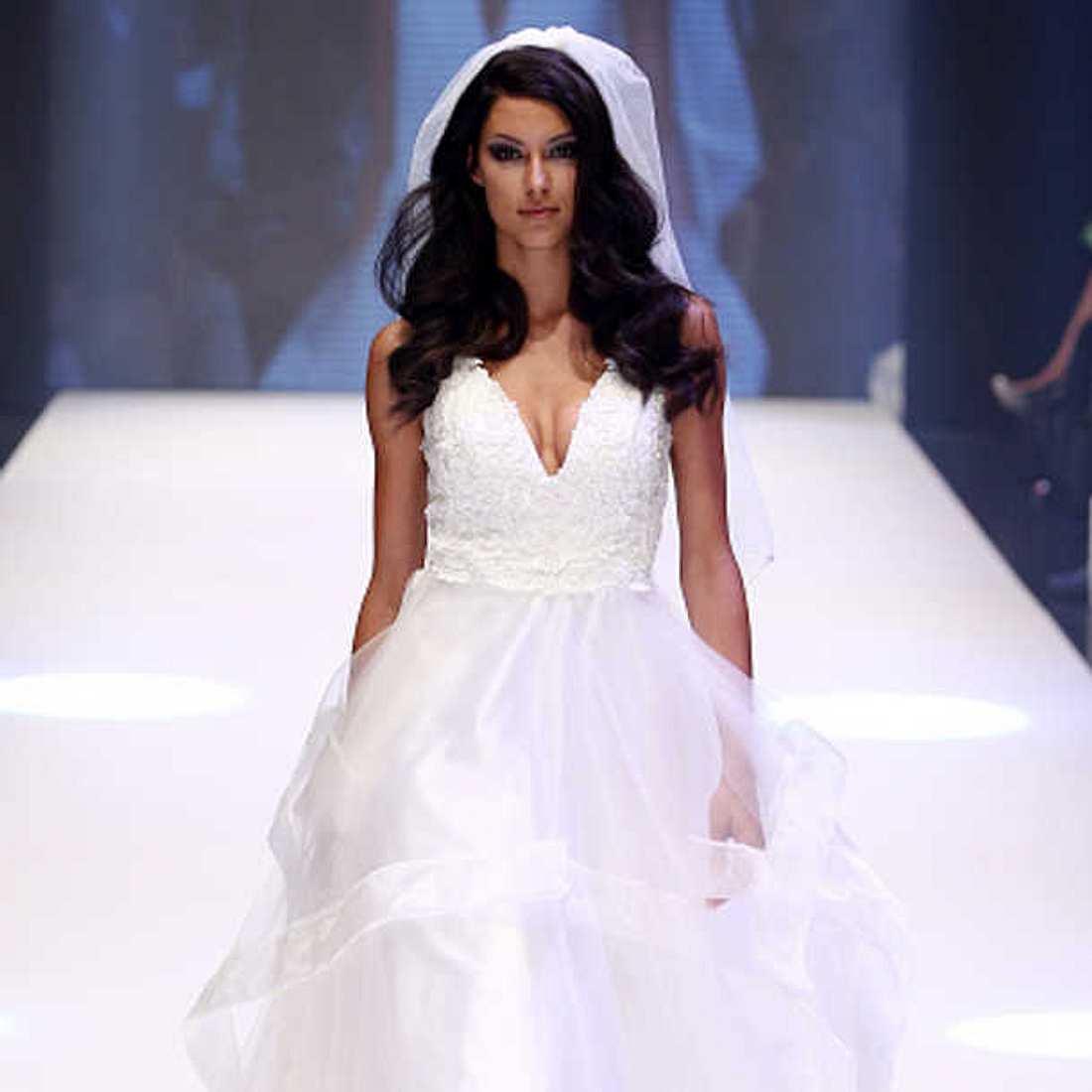 Rebecca Mir hat ihr Hochzeitskleid ruiniert