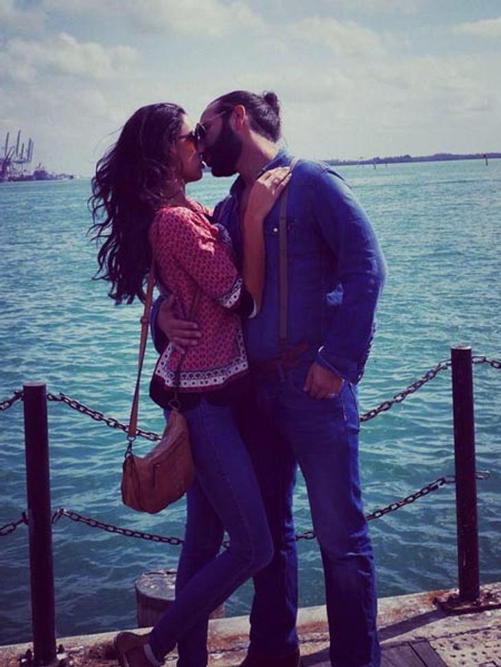 Rebecca Mir und Massimo Sinato - total verknallt nach der Hochzeit