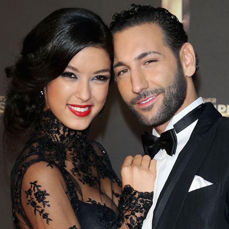 Rebecca Mir with cazibeli, yakışıklı, Erkek arkadaşı Massimo Sinato