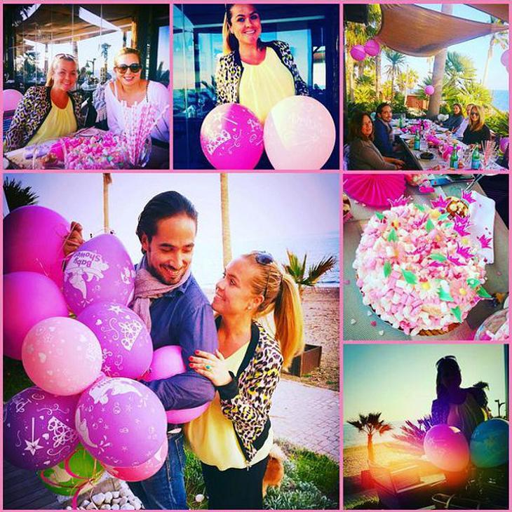 Rebecca Kratz und ihr Verlobter werden bald Eltern