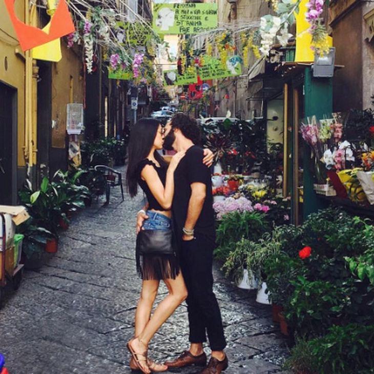 Rebecca Mir und Massimo Sinató lieben sich wie am ersten Tag