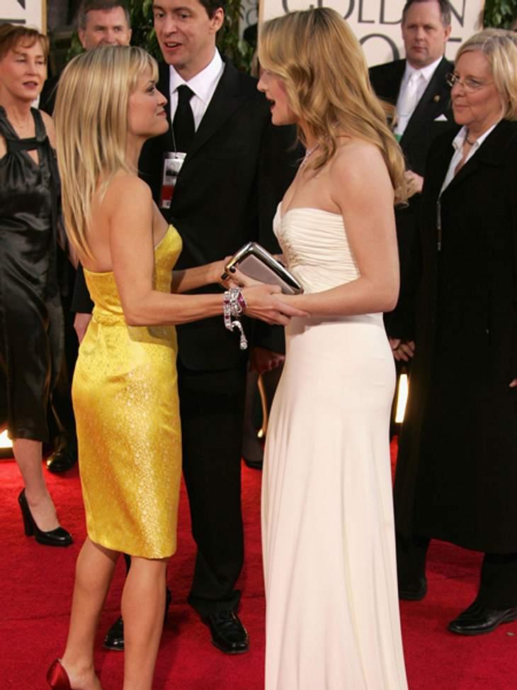 """Promi-BFFs - Durch dick & dünnKate Winslet  (36) und Reese Witherspoon (36) lernten sich 2007 kennen und zwar auf sehr direkte Weise. """"Stellen Sie sich mein Glück vor, als Kate Winslet in meine Nachbarschaft zog, an meiner Tür klin"""