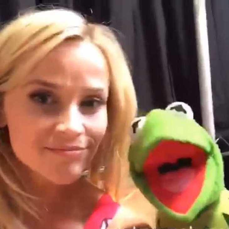 Reese Witherspoon: Instagram-Duett mit Kermit!