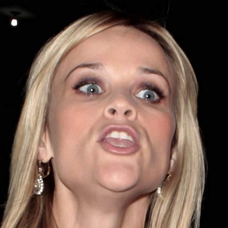 VIP-Grimassen: Einmal komisch gucken, bitte!Wenn  Reese Witherspoon so guckt, dann geht man besser in Deckung! Widerworte sind jetzt auch nicht angesagt!