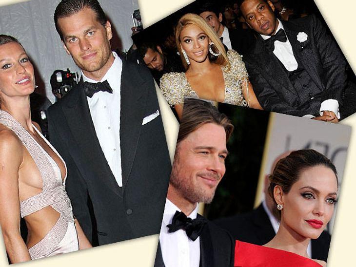 Die reichsten Promi-Paare der WeltHollywood-Stars, Sänger, Models und Sportler - sie alle verdienen jedes Jahr Millionen. Doch kommen zwei von ihnen zusammen, bringen sie es auf ein Jahreseinkommen, was oft jenseits unserer Vorstellungskraf
