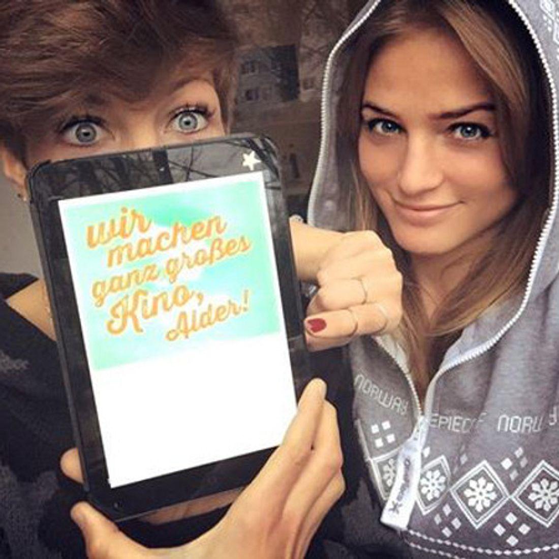 Die Ex-BTN-Stars Saskia und Ricarda planen einen Kinofilm