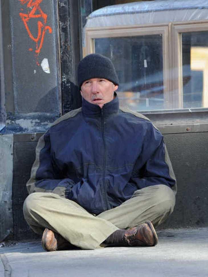 Richard Gere wurde für einen Obdachlosen gehalten!