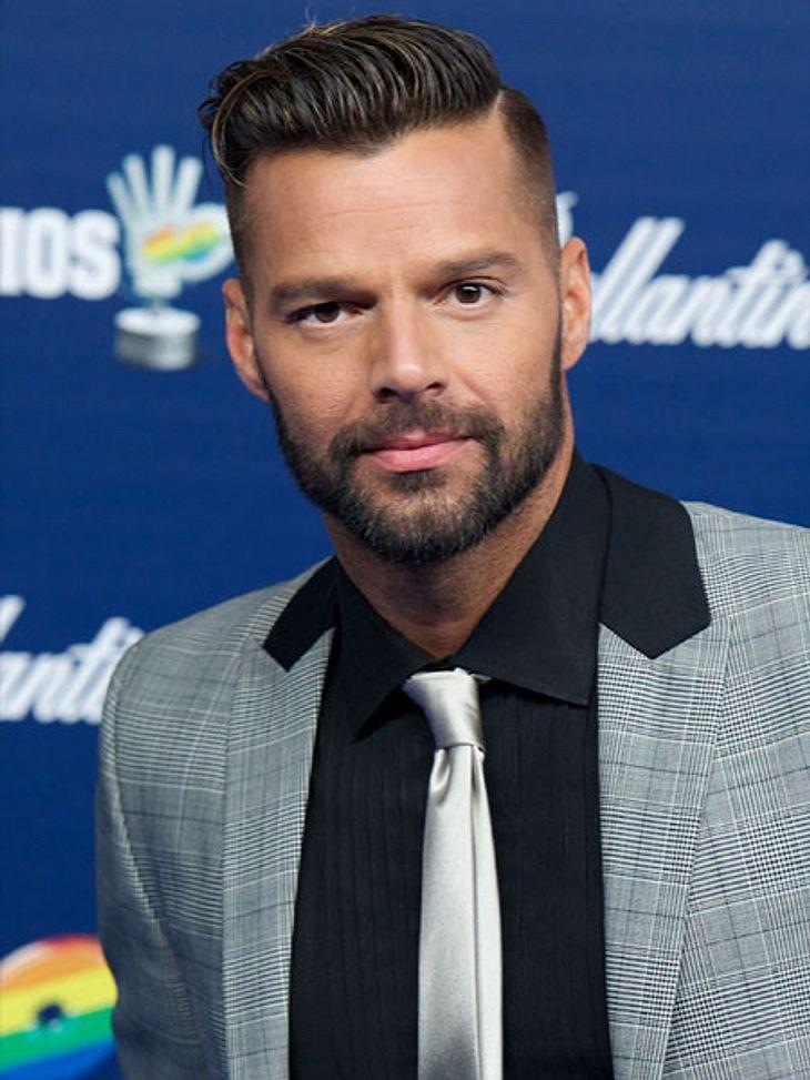 Ricky Martin ist wieder Single.