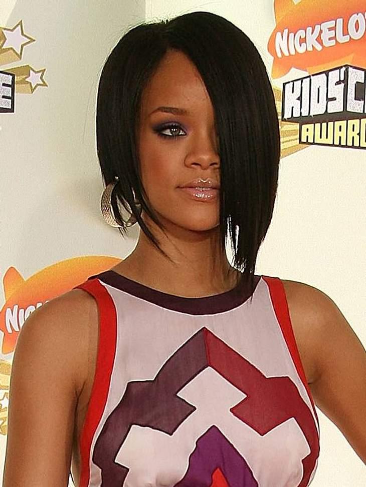 Rihanna: Das Frisuren-ChamäleonMit ihrem Bob hat Rihanna einen Trend in Gang gesetzt, der einige Jahre anhielt.