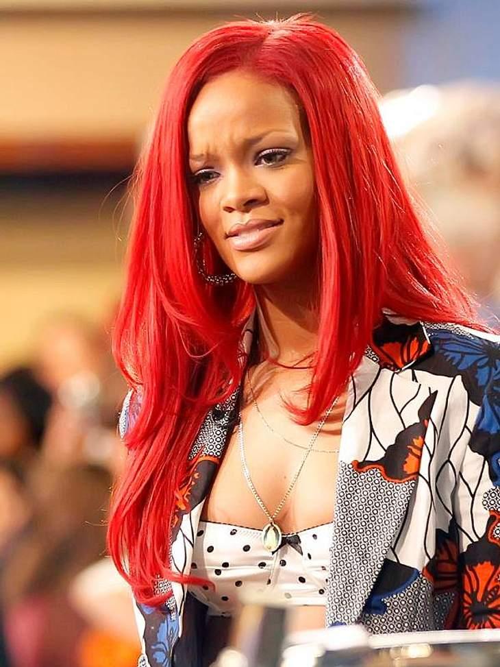 Rihanna: Das Frisuren-Chamäleon... hier super-glatt.