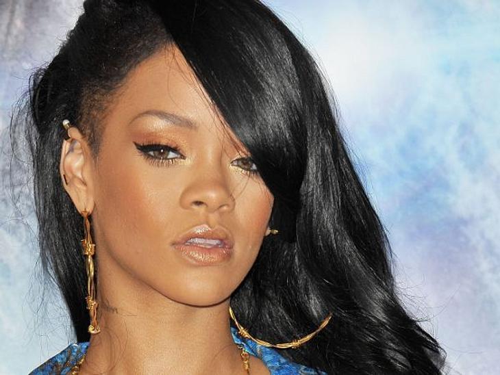 Rihanna hat mal wieder zu hart gefeiert