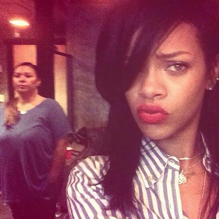 Rihanna ist offenbar zurück bei Instagram