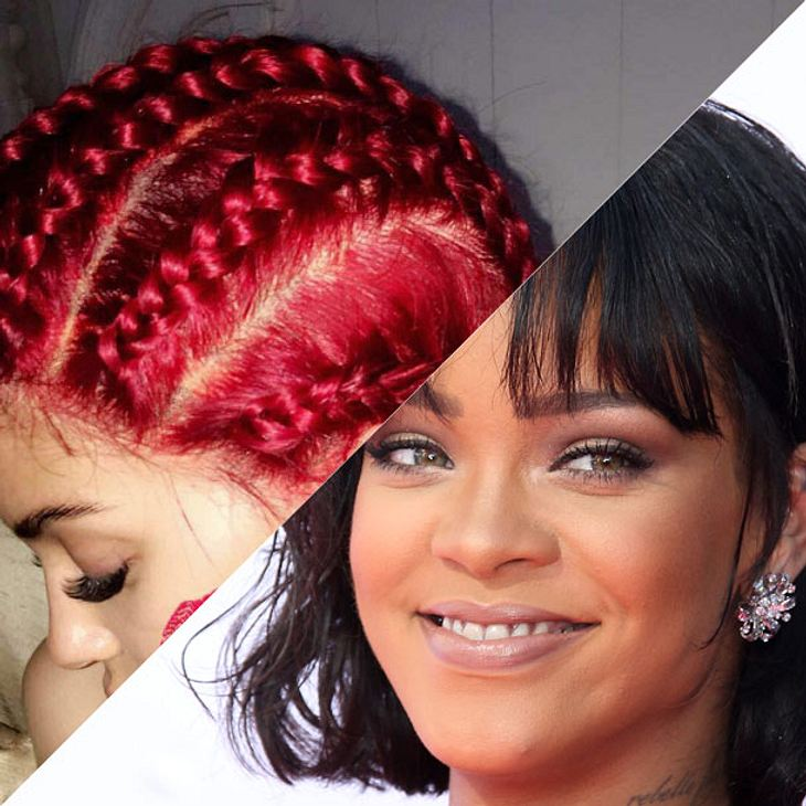 Rihanna vs Kylie Jenner im Frisuren-Fight