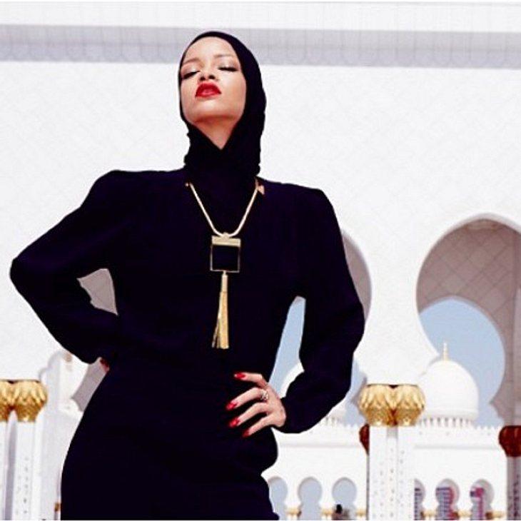 Rihanna handelte sich den Zorn der Moscheeaufpasser ein.