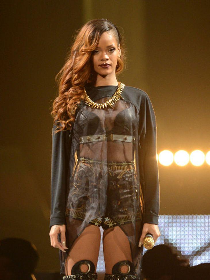 Wasser statt Wodka: Rihanna soll schwanger sein!