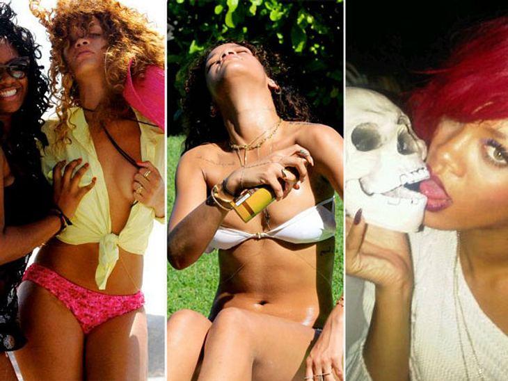Rihanna: Ihre peinliche Sex-ShowHaut, Haut, Haut - nichts als nackte Haut! Sicherlich, Rihanna (24) hat sich schon immer extrem sexy dargestellt. Aber mittlerweile scheint die Sängerin regelrecht darauf versessen zu sein, eine Art Pornoshow
