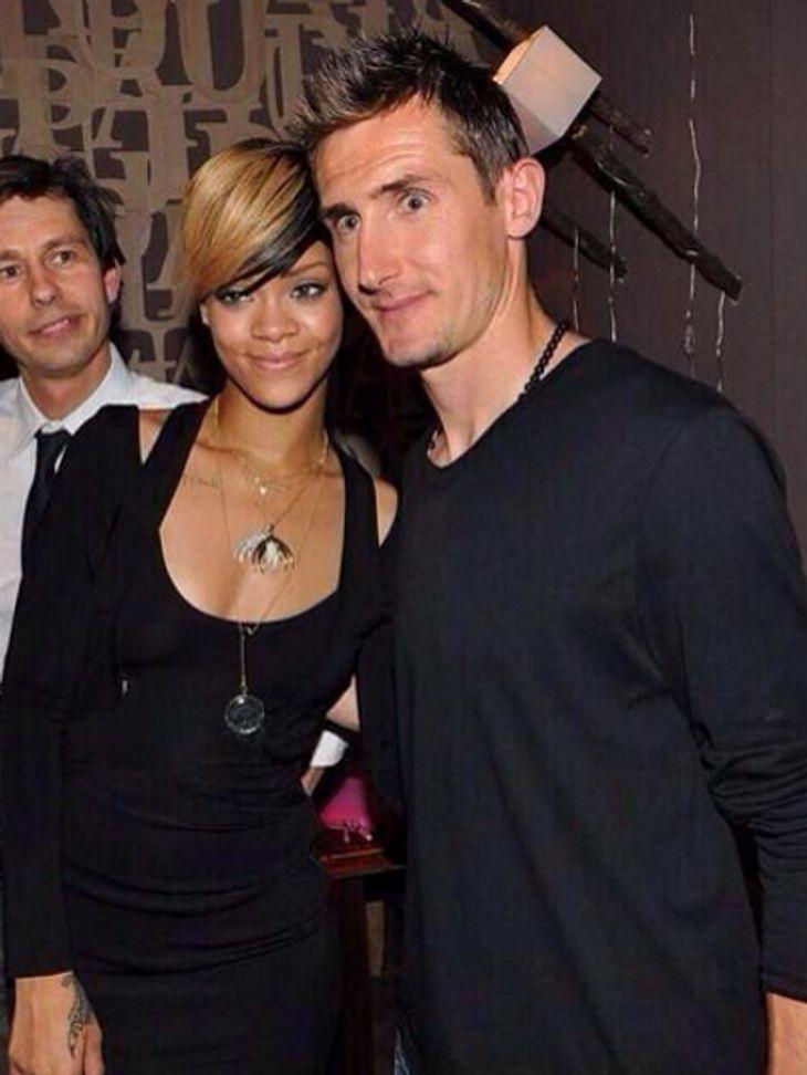 Rihanna und Klose