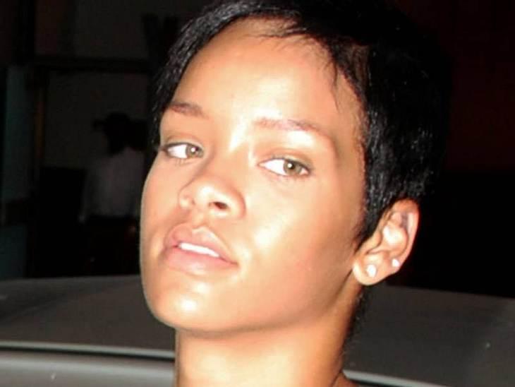 Rihanna Ungeschminkt