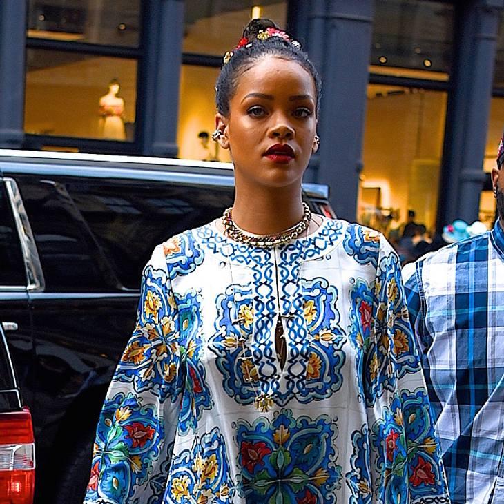 Rihanna zeigte sich während ihres Auftritts in Dublin sehr emotional
