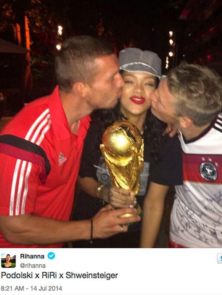 Rihanna will sich einen Fußball-Verein kaufen