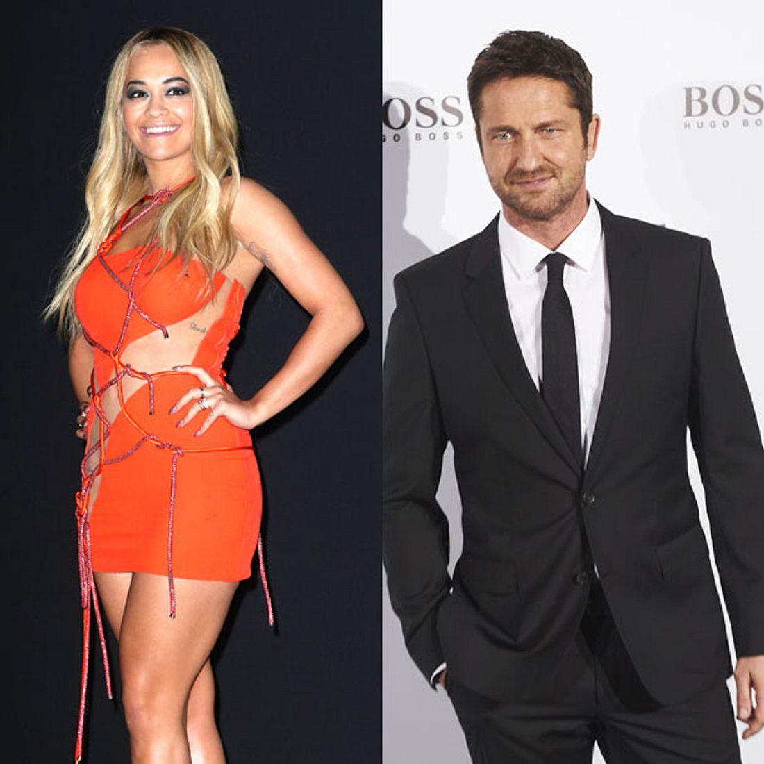 Was läuft zwischen Gerard Butler und Rita Ora?