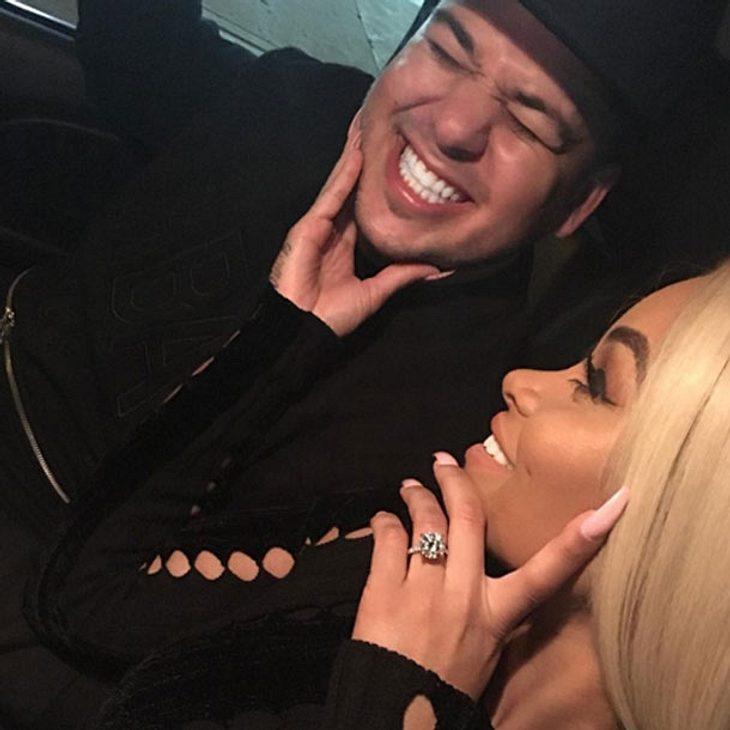 Rob Kardashian und Blac Chyna haben sich verlobt