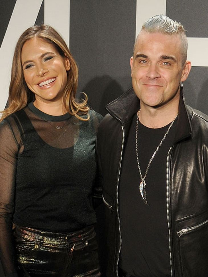 Robbie Williams und Ayda Field besuchten die Tom Ford-Show