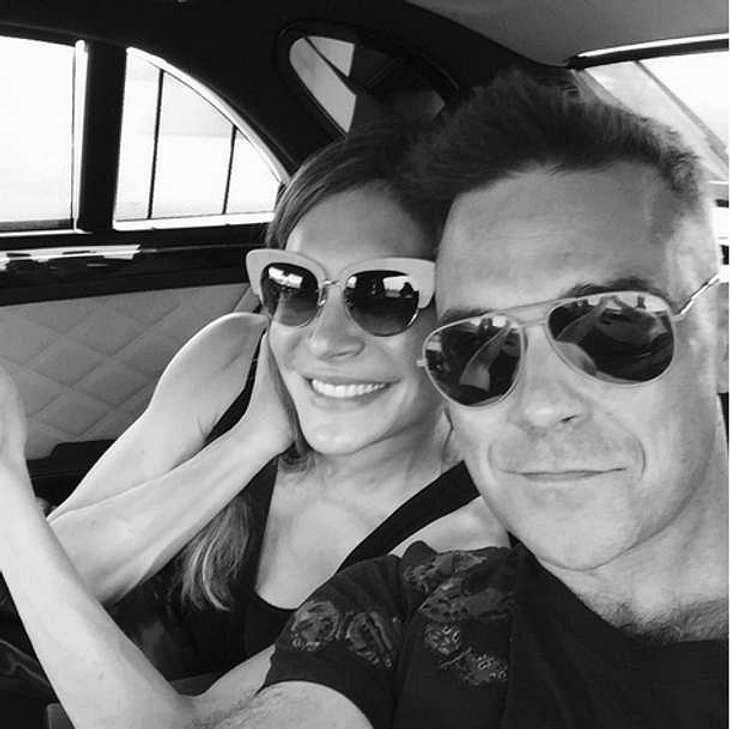 Robbie Williams Ayda Field Geburtstag