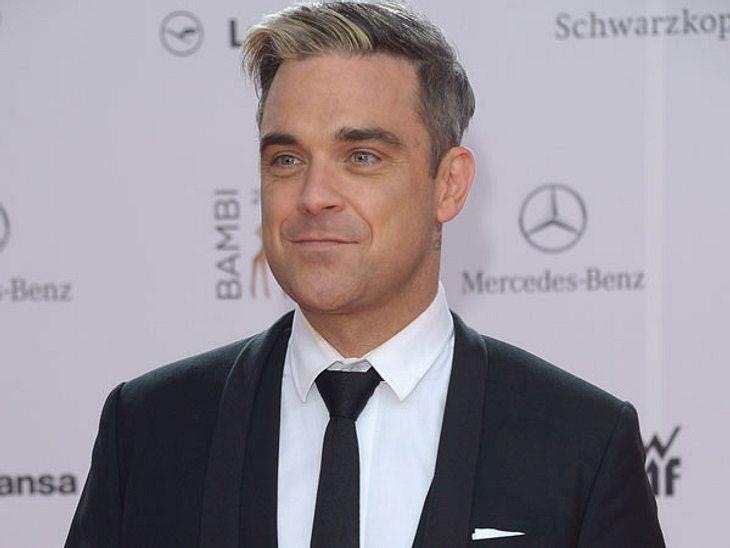 Robbie Williams ist ein ganz Wilder.