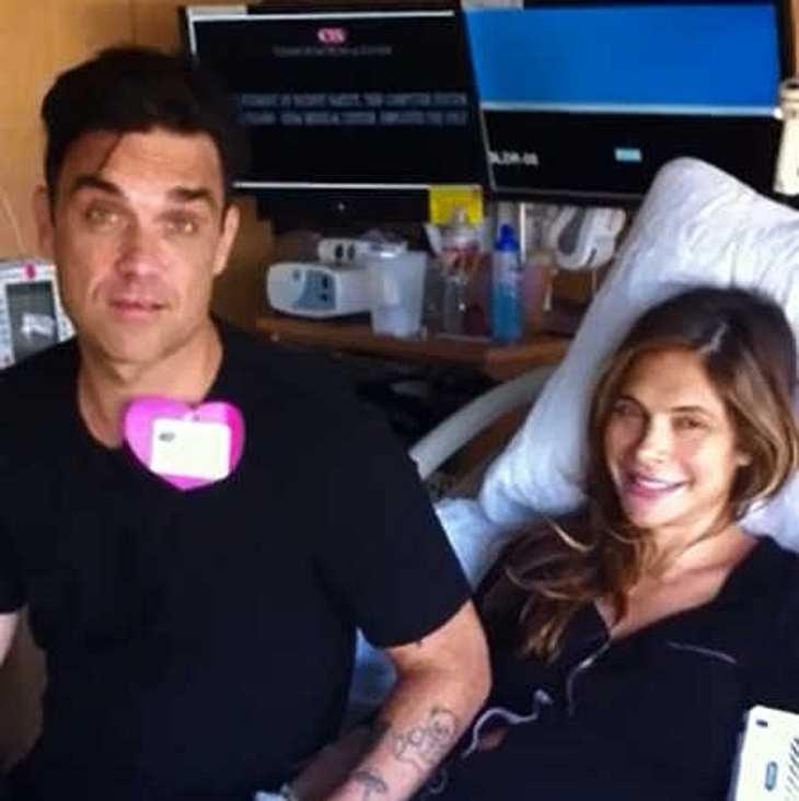 Robbie Williams: Zweites Baby ist da!