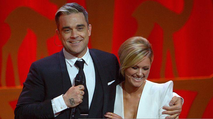 """Robbie Williams über Helene Fischer: """"Ich fühle mich in ihrer Gegenwart sehr wohl"""""""