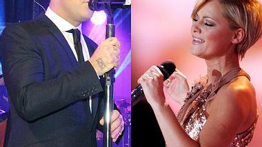 Robbie Williams und Helene Fischer: Die perfekten Duett-Partner! - Foto: Andreas Rentz/David M. Benett / Getty Images