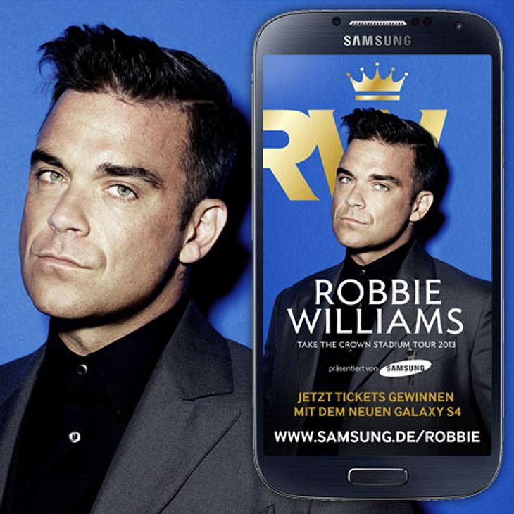 Tickets für Robbie Williams zu gewinnen