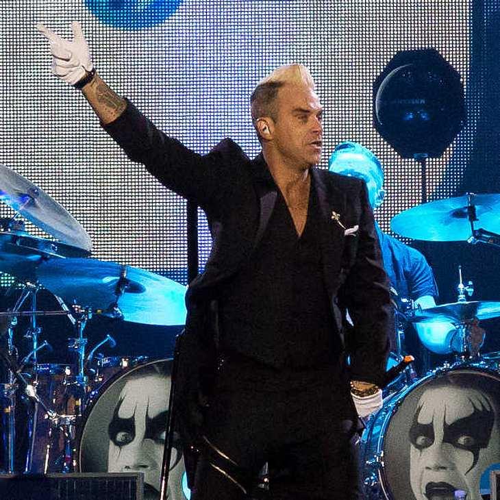 Robbie Williams ist für ein Firmen-Event nach Hamburg gereist