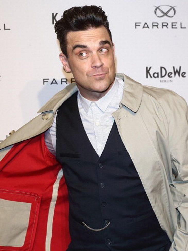 Robbie Williams: Singt er auf seiner neuen Platte bald zusammen mit Adele?