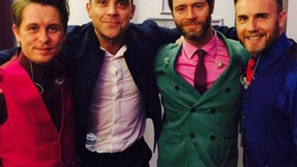 Robbie Williams kehrt zu Take That zurück