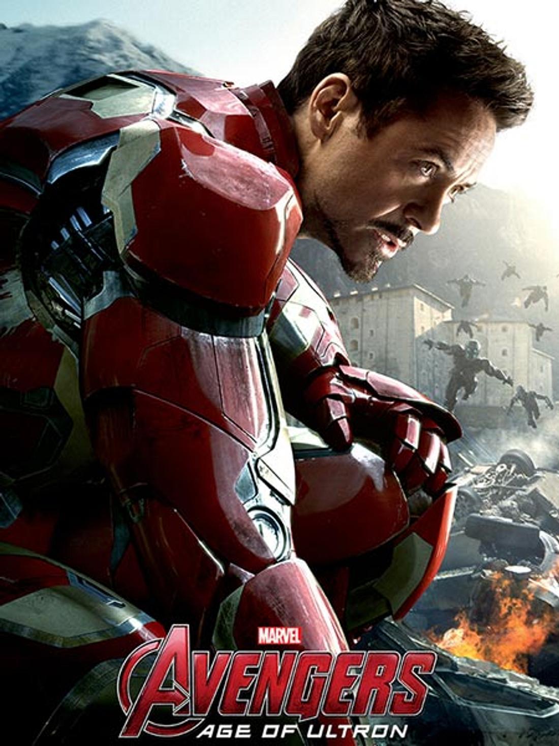 """""""Ich bin Iron Man"""", sagt Rober Downey Jr. schon seit 2008 und hat sich seither kaum verändert."""