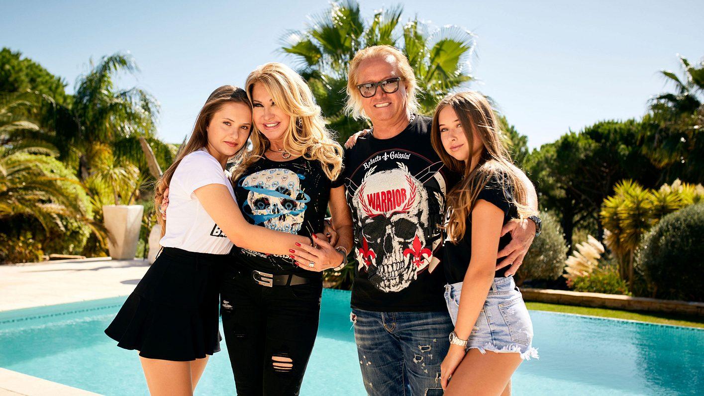 Robert Geiss, Carmen und Töchter haben ein Vermögen
