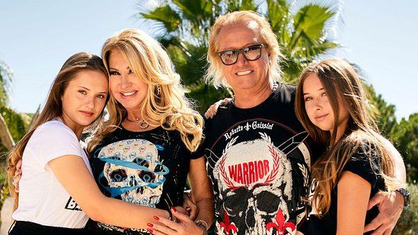 Robert Geiss, Carmen und Töchter haben ein Vermögen - Foto: RTLzwei